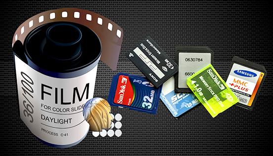 filme-cartão-ronmidia Fotografia Digital
